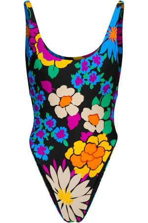 Saint Laurent Floral swimsuit