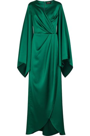 Rasario Women Midi Dresses - Stretch-satin gown