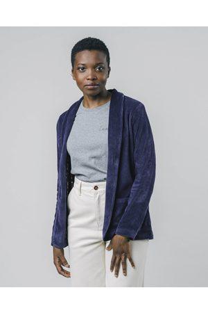 Brava Fabrics Corduroy Jacket Blue