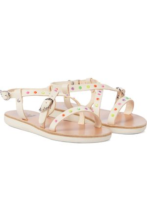 Ancient Greek Sandals Little Sofia leather sandals
