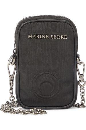 Marine Serre Moiré one pocket phone case