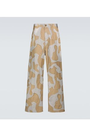 UNDERCOVER Wide-leg camouflage pants