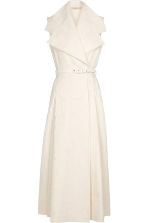 EMILIA WICKSTEAD Blythe cotton moiré midi dress