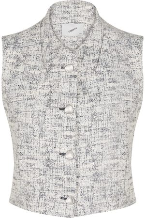 COPERNI Sleeveless tweed vest