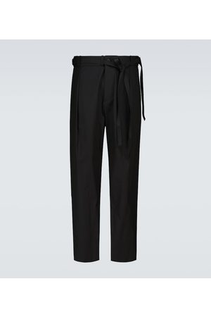 CRAIG GREEN Pleated cotton pants