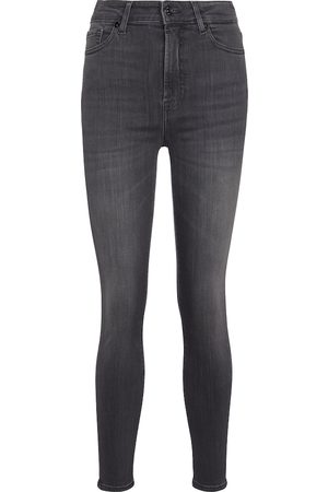 7 for all Mankind Women High Waisted - Aubrey Slim Illusion Luxe high-rise skinny jeans