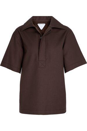 Bottega Veneta Women Polo Shirts - Cotton polo top