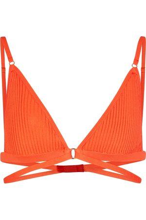 DODO BAR OR Women Bralettes - Ribbed-knit bralette