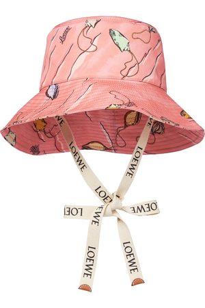 Loewe Paula's Ibiza printed canvas bucket hat