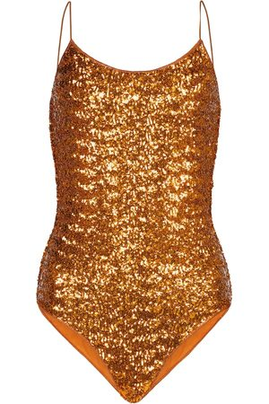Oséree Exclusive to Mytheresa – Sequined swimsuit