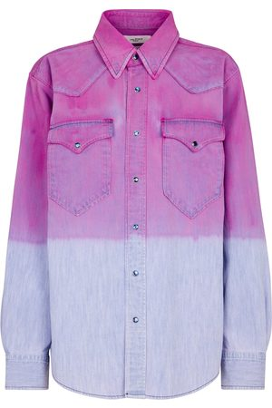 Isabel Marant Pitti ombré denim shirt