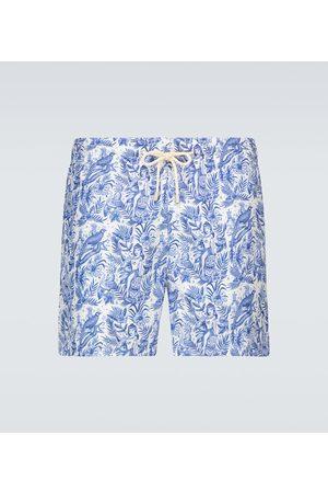 ARRELS Barcelona Men Swim Shorts - Paradisaeidae x Sergio Mora swim shorts
