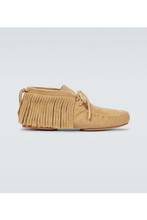 Loewe Men Loafers - Paula's Ibiza suede moccasin boots
