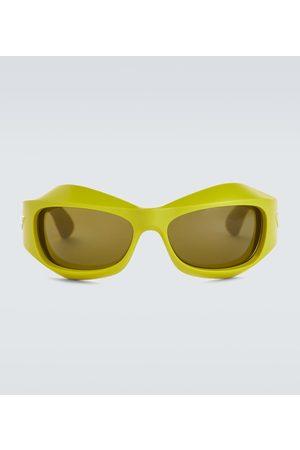 Bottega Veneta Wrap-around acetate sunglasses