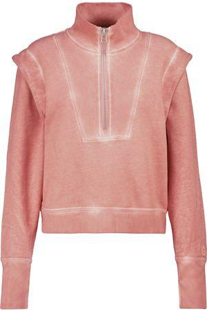 VERONICA BEARD Dylan zip-up cotton sweatshirt