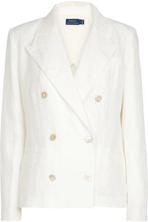 Polo Ralph Lauren Double-breasted linen blazer