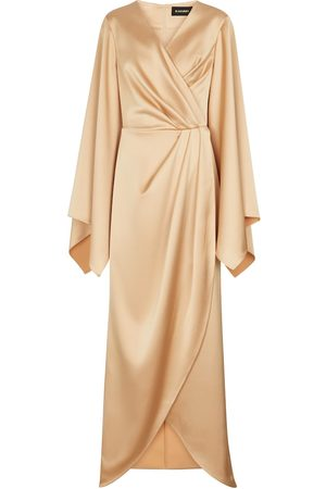 Rasario Stretch-satin gown