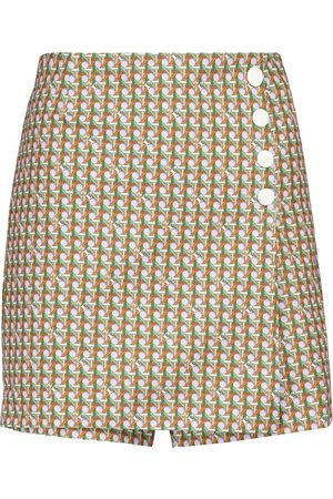 Tory Sport Printed miniskirt
