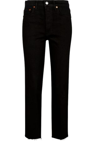 RE/DONE High-rise slim jeans