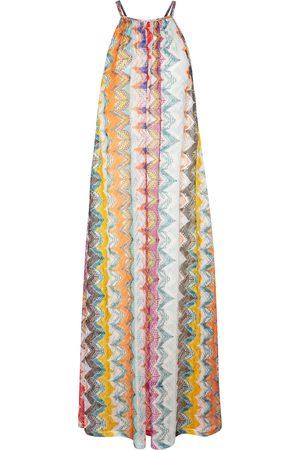 Missoni Zig-zag knit maxi dress