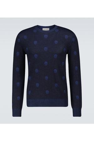 Alexander McQueen Skull crewneck sweater