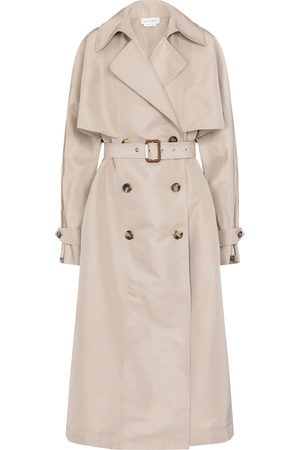 Alexander McQueen Oversized trench coat