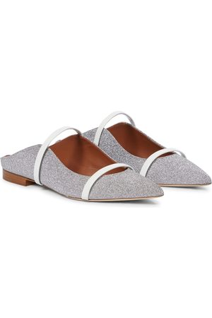 MALONE SOULIERS Exclusive to Mytheresa – Maureen glitter slippers