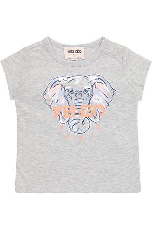 Kenzo Baby logo cotton T-shirt