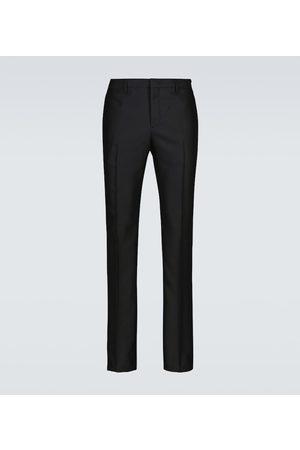 Fendi Wool tailored pants