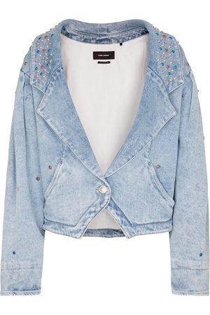 Isabel Marant Depaline embellished denim jacket