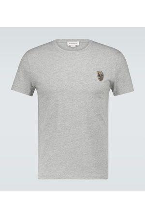Alexander McQueen Skull badge cotton T-shirt