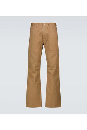 JUNYA WATANABE Straight-fit cotton chino pants