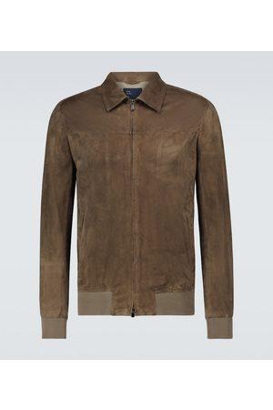 Thom Sweeney Suede blouson jacket