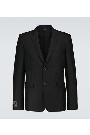 Fendi Single-breasted wool blazer