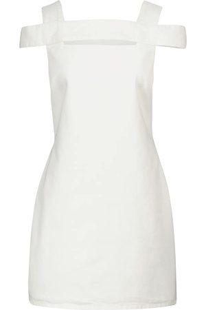 Givenchy Cutout denim minidress