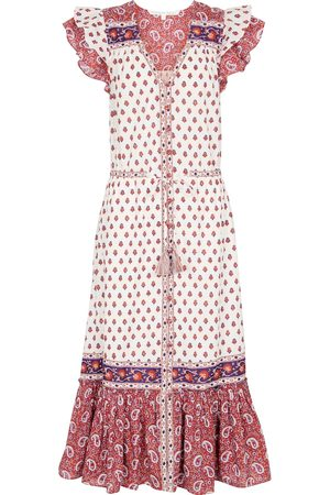VERONICA BEARD Tinzia paisley cotton midi dress