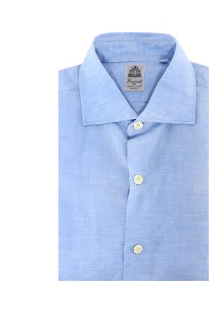 Finamore Cotton and linen shirt
