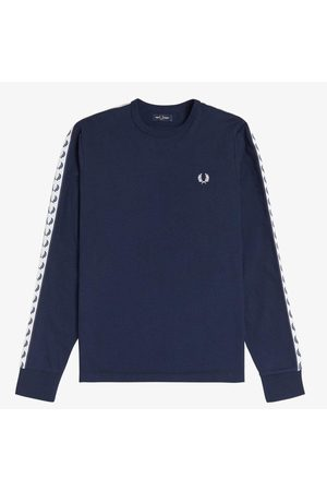 Fred Perry Taped long sleeve t-shirt, Title: CARBON