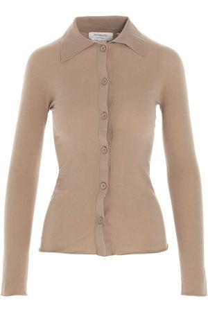 Sportmax Women Shirts - WOMEN'S 2341011860012117002 BEIGE POLYAMIDE SHIRT