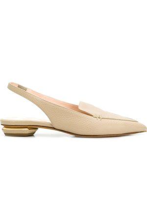 Nicholas Kirkwood 18mm Beya slingback shoes - Neutrals
