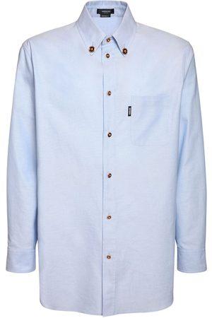 VERSACE Medusa Oxford Cotton Shirt