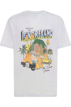 LIFTED ANCHORS Men T-shirts - Souvenir Print Cotton T-shirt
