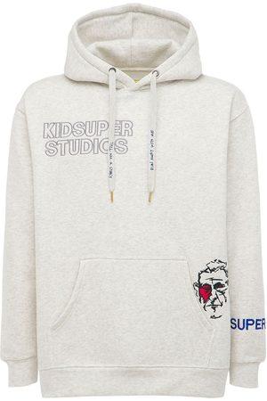 KIDSUPER STUDIOS Kidsuper Logo Cotton Hoodie