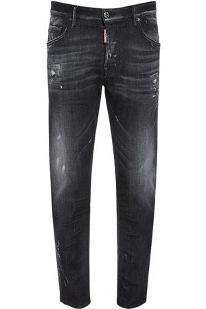 Dsquared2 16.5cm Skater Cotton Denim Jeans