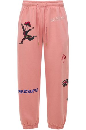 KIDSUPER STUDIOS Kidsuper Logo Cotton Sweatpants