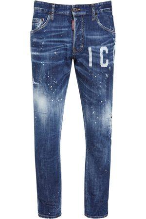 Dsquared2 16cm Icon Print Skater Denim Jeans