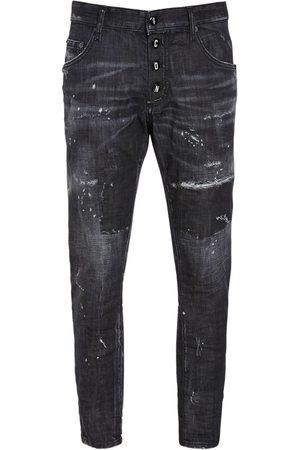 Dsquared2 Men Jeans - 16cm Icon Buttons Skater Denim Jeans