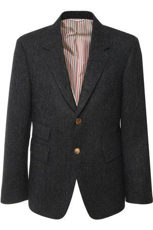 Thom Browne Loose Wool Tweed Blazer
