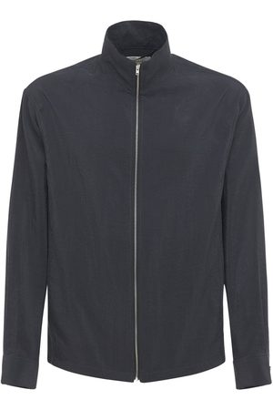 LEMAIRE Silk & Mesh Zip-up Jacket