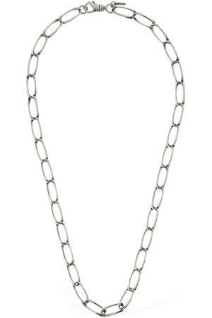 EMANUELE BICOCCHI 60cm Square Link Chain Necklace